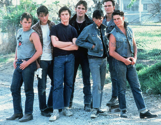 SChool movies Outsiders