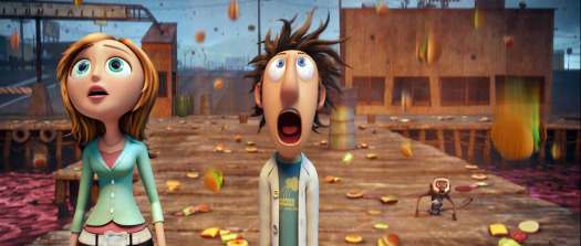 Cloudy with a chance of meatballs - inside