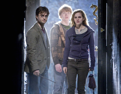 Harry Potter and the Deathly Hallows Part I - inside