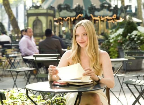 AMANDA SEYFRIED stars in LETTERS TO JULIET