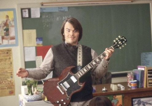 School of Rock inside