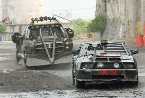 Death Race 2 inside