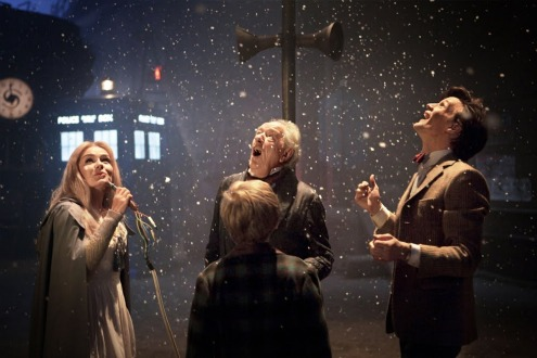 Doctor Who Christmas inside