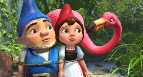Gnomeo and Juliet inside