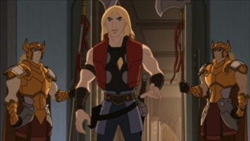 Animated Thor inside