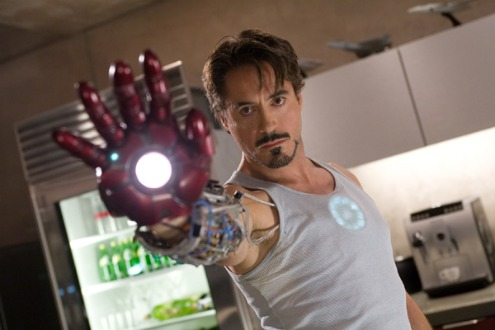 Iron Man movie image Robert Downey Jr as Tony Stark