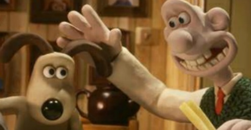 Wallace and Gromit image within post