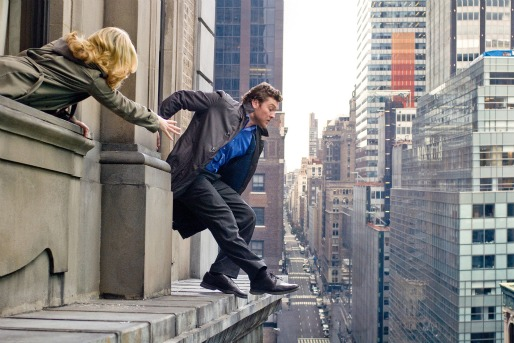 SAM WORTHINGTON (R) and ELIZABETH BANKS (L)  star in MAN ON A LEDGE