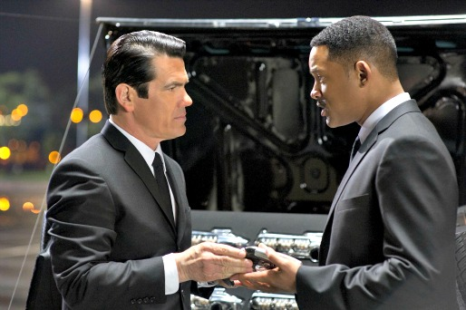 Men in Black III - inside