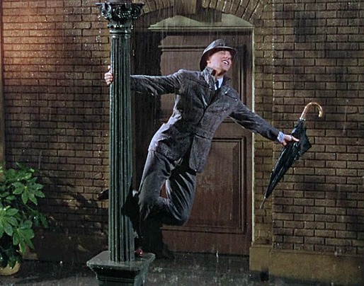 Singin in the Rain - inside