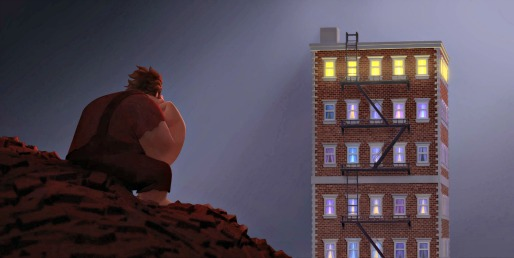 Wreck-It Ralph - inside