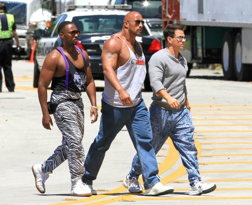 Pain and Gain - inside