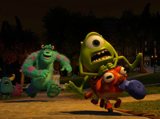 Monsters University - inside