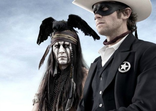 The Lone Ranger - inside