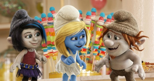 The Smurfs 2 - inside