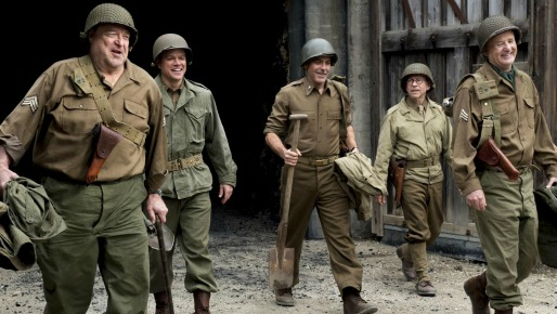 The Monuments Men - inside
