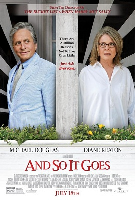 "Poster art for the new movie ""And So It Goes"""