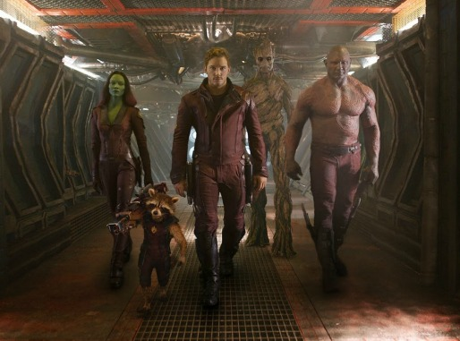 Guardians of the Galaxy - inside