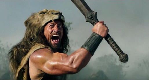 Dwayne The Rock Johnson stars in Hercules