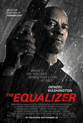 "One sheet for the new Denzel Washington movie ""The Equalizer"""