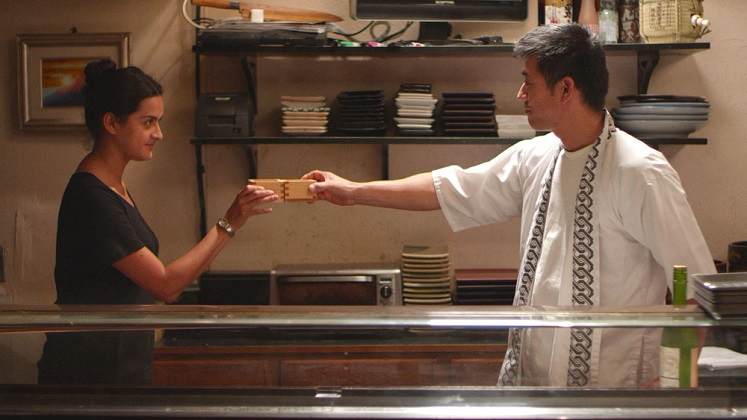 Diana Elizabeth Torres stars in East Side Sushi