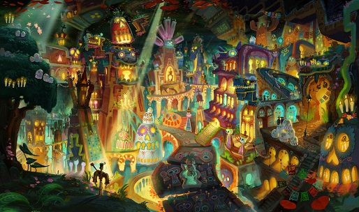 The Book of Life features Mexican folklore