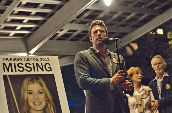the new movie Gone Girl opened Oct. 4