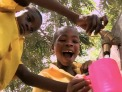 "Clean water project as portrayed in documentary ""Slingshot"""