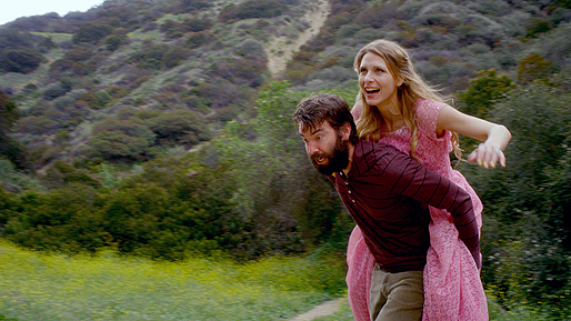 """Strangely in Love"" (2014) starring Jemuel Morris, Michelle Lang and directed by Amin Matalqa."