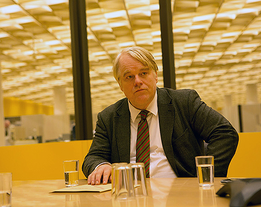 "Phillip Seymour Hoffman stars in ""A Most Wanted Man"" (2014)."