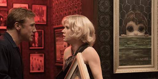 "Christoph Waltz and Amy Adams star as Walter and Margaret Keane in Tim Burton's ""Big Eyes,"" distributed by The Weinstein Company."