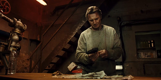 "Liam Neeson reprises his role as Bryan Mills — on the run after being framed for the murder of his ex-wife — in ""Tak3n,"" a 2015 release by 20th Century Fox."