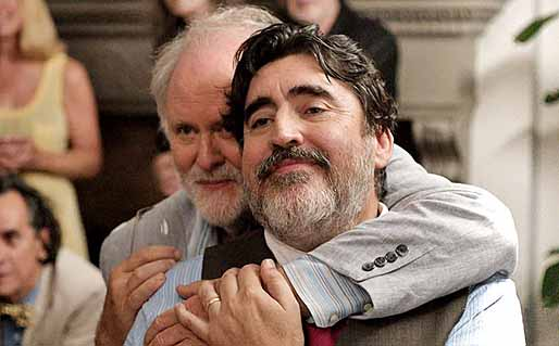 """Love is Strange"" (2014) stars Alfred Molina and John Lithgow."