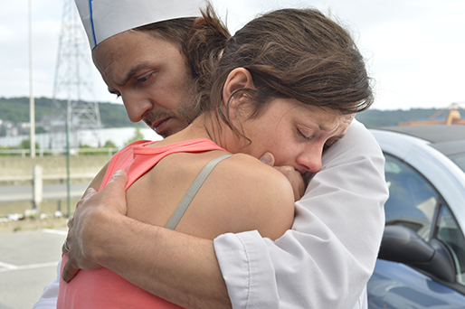"Fabrizio Rongione and Oscar nominee Marion Cotillard star in ""Two Days, One Night,"" a 2014 French drama directed by Jean-Pierre and Luc Dardenne."