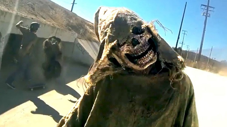 Scares come from found footage in V/H/S Viral