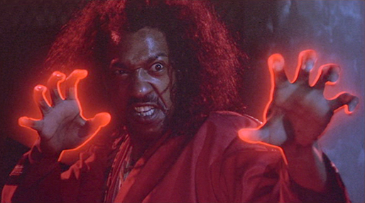 "Julius J. Carry III stars as Sho'Nuff in ""The Last Dragon,"" a 1985 TriStar Pictures release."