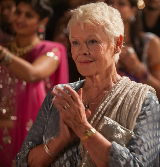 Judi Dench Second Best Exotic Marigold Hotel