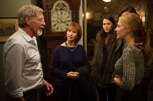 "Harrison Ford, Kathy Baker, Amanda Crew and Blake Lively star in ""The Age of Adaline,"" a 2015 Lionsgate film directed by Lee Toland Krieger."