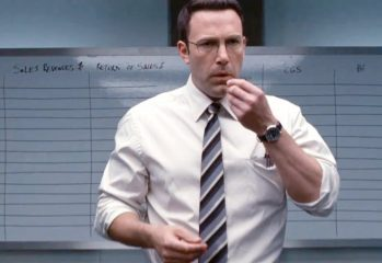 "Before he cracks heads, Christian Wolff (Ben Affleck) must crunch some numbers in ""The Accountant,"" a 2016 action-drama from Warner Brothers."