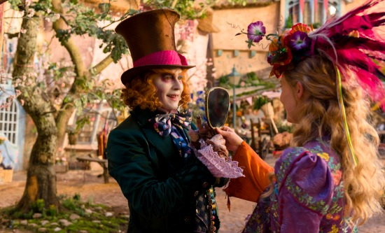 Alice Through the Looking Glass - inside
