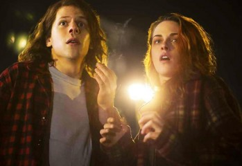 "Jesse Eisenberg and Kristen Stewart star in ""American Ultra,"" a 2015 Lionsgate action-comedy directed by Nima Nourizadeh."
