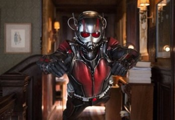 Paul Rudd and Michael Douglas star in the new Marvel Comics movie Ant-Man