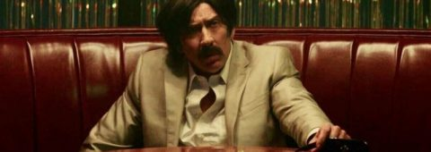 """Nicolas Cage stars as Eddie King, an unhinged criminal, in """"Arsenal,"""" a 2017 Lionsgate release."""