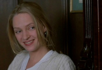 "Uma Thurman stars in Miramax's ""Beautiful Girls,"" a 1996 romantic dramedy directed by the late Ted Demme."