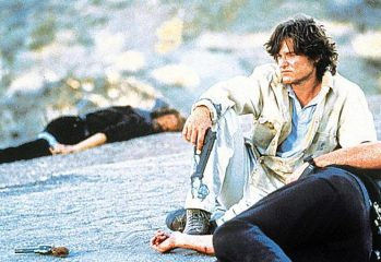 "Jeff Taylor (Kurt Russell) finds himself in way over his head in ""Breakdown,"" a 1997 thriller from Paramount Pictures."