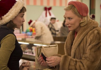 "Rooney Mara (left) and Cate Blanchett star in the 2015 Weinstein Company release ""Carol,"" Todd Haynes' sumptuous period-piece romance."