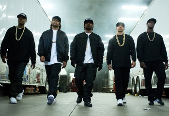 "The rise and fall of gangsta rap pioneers N.W.A. is chronicled in ""Straight Outta Compton,"" a 2015 Universal Pictures release directed by F. Gary Gray."