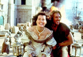 "Geena Davis and Matthew Modine star in Renny Harlin's ""Cutthroat Island,"" the notoriously unpopular 1995 film that once held the world record for most money lost by a film ($105 million)."