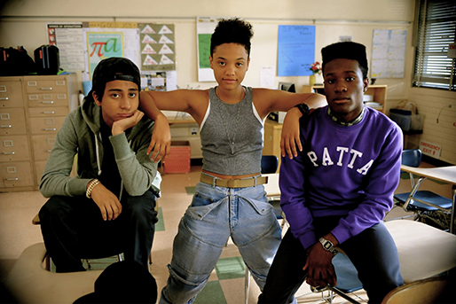 "From left, Tony Revolori, Kiersey Clemons and Shameik Moore star in ""Dope,"" a 2015 coming-of-age comedy released by Open Road Films and directed by Rick Famuyiwa."