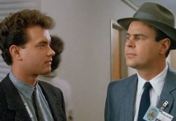 "Tom Hanks and Dan Aykroyd star in 1987's ""Dragnet,"" a Universal Pictures release."